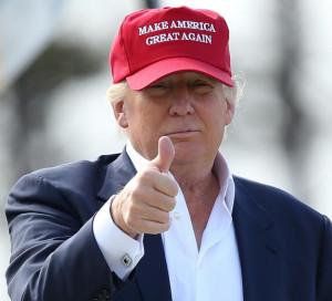 Donald Trump, breaking branding rules